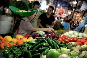 Canasta alimentaria subió su precio 19% en los 3 años que va de la 4T