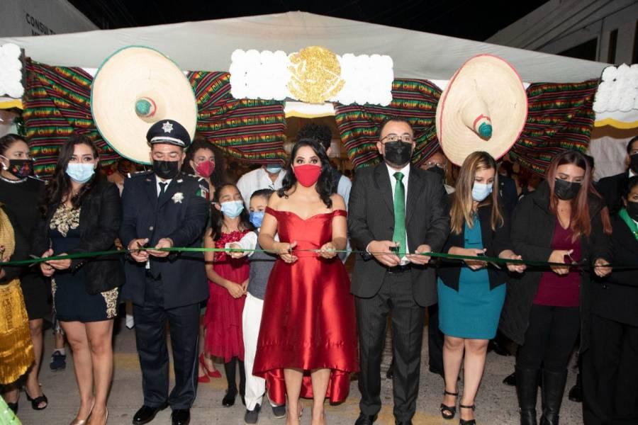 Así celebraron en Soledad de Graciano Sánchez, el tradicional Grito de Independencia