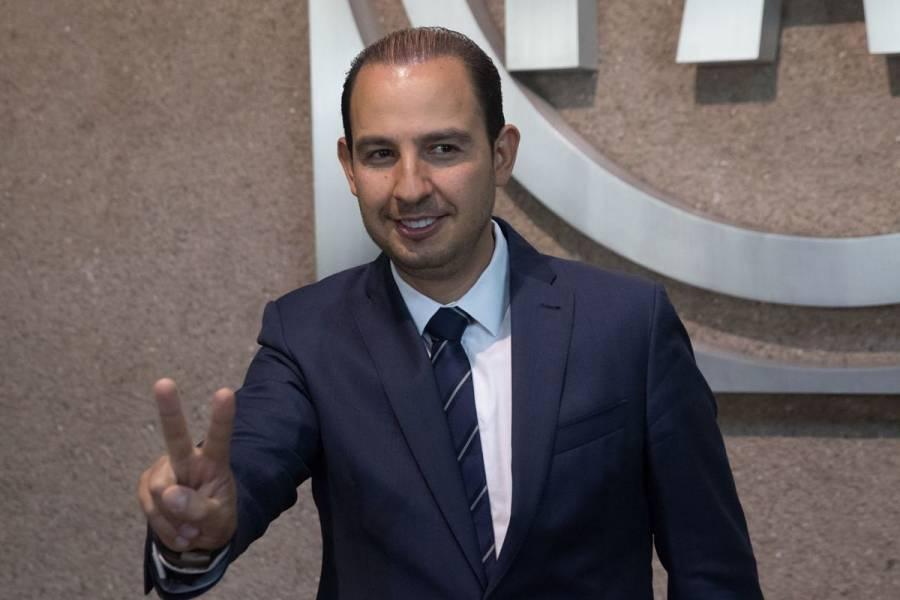 Marko Cortés se afianza como el único aspirante a la dirigencia del PAN