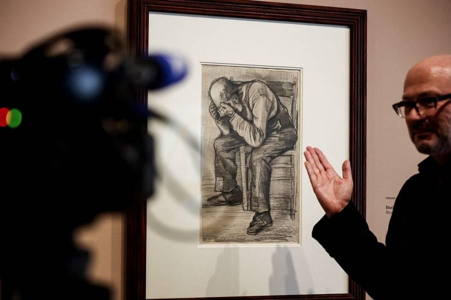 Descubren nuevo dibujo de Vincent Van Gogh; se exhibe en museo de Ámsterdam