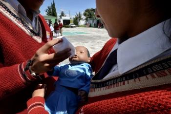 México primer lugar de la OCDE en embarazo adolescente