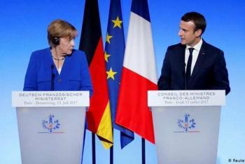Previo a elecciones alemanas, Emmanuel Macron se reunirá con Angela Merkel