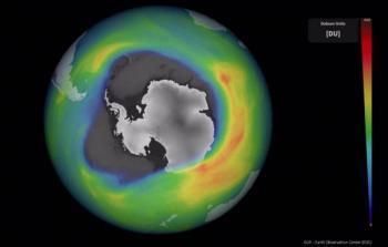 Agujero de ozono es más grande que la Antártida