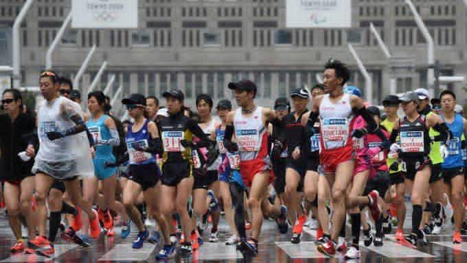 Fue aplazado el maratón de Tokio debido a las restricciones por el Covid-19