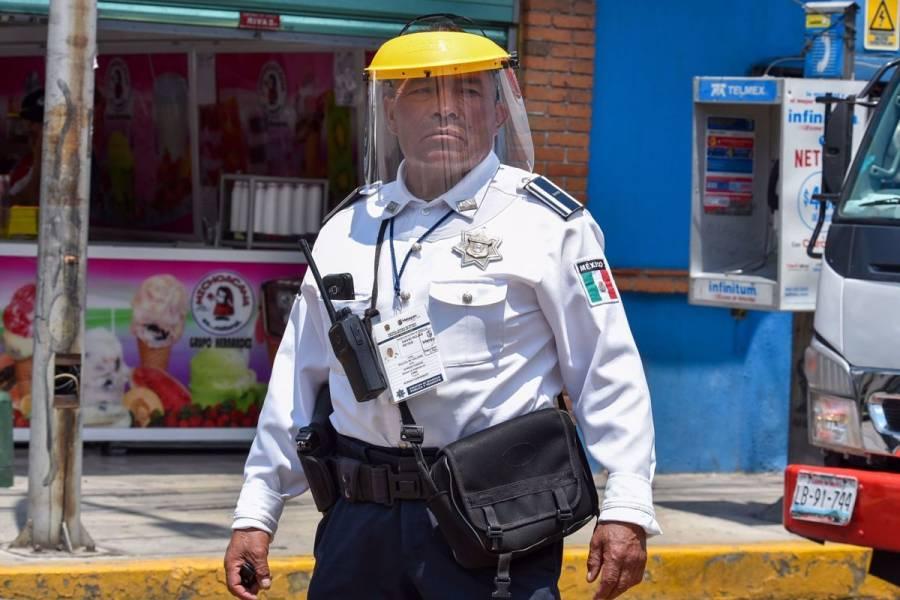 Conductora atropella a policía porque le impidió el paso en la CDMX