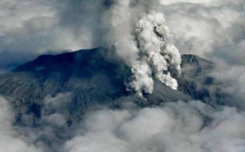 Debido a la erupción de un volcán Japón lanzó una alerta de emergencia