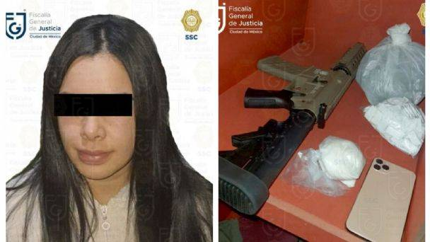 Mitzy Yunuen, supuesta novia de líder de La Unión Tepito fue vinculada a proceso