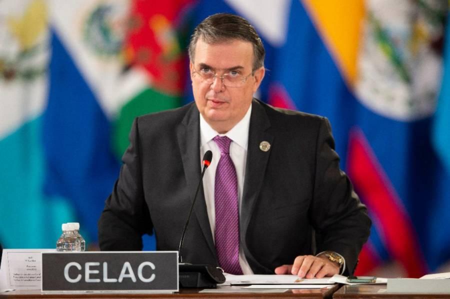 Desaparición de la OEA, en pausa: Ebrard