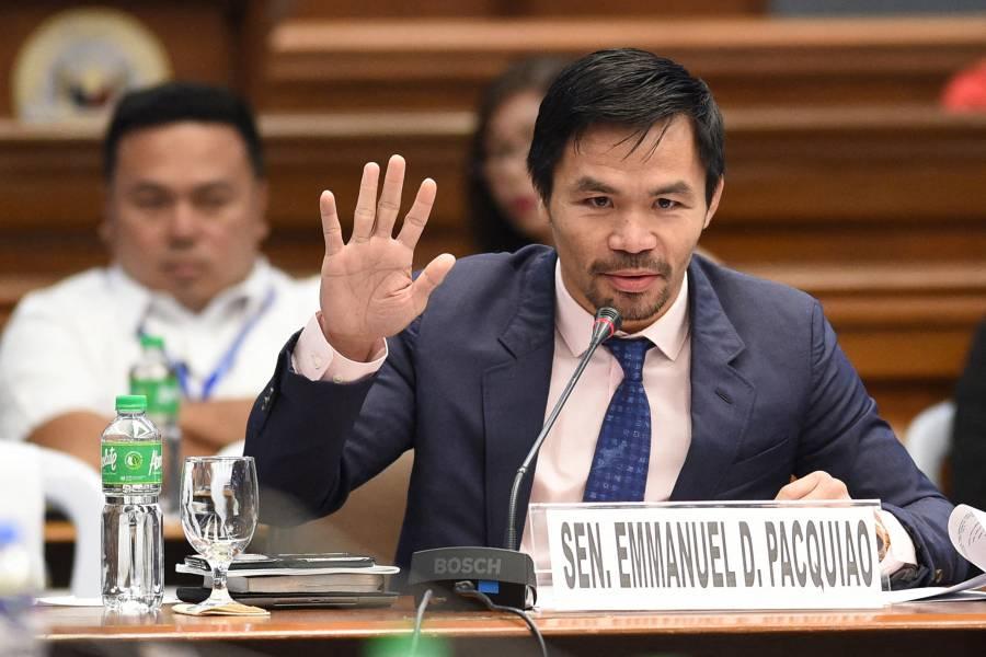 Manny Pacquiao anuncia su candidatura a la presidencia de Filipinas