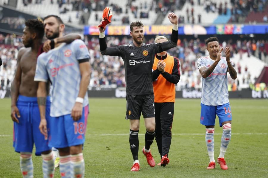 De Gea salva al Manchester United y sigue líder; Brighton le pega al Leicester