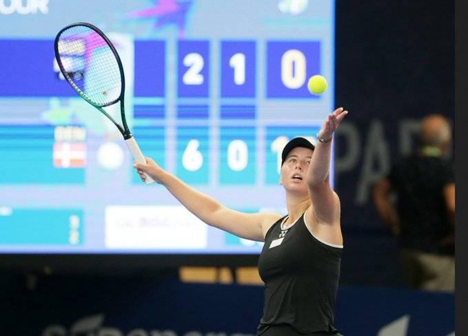 La tenista de 18 años, Clara Tauson gana el Torneo de Luxemburgo