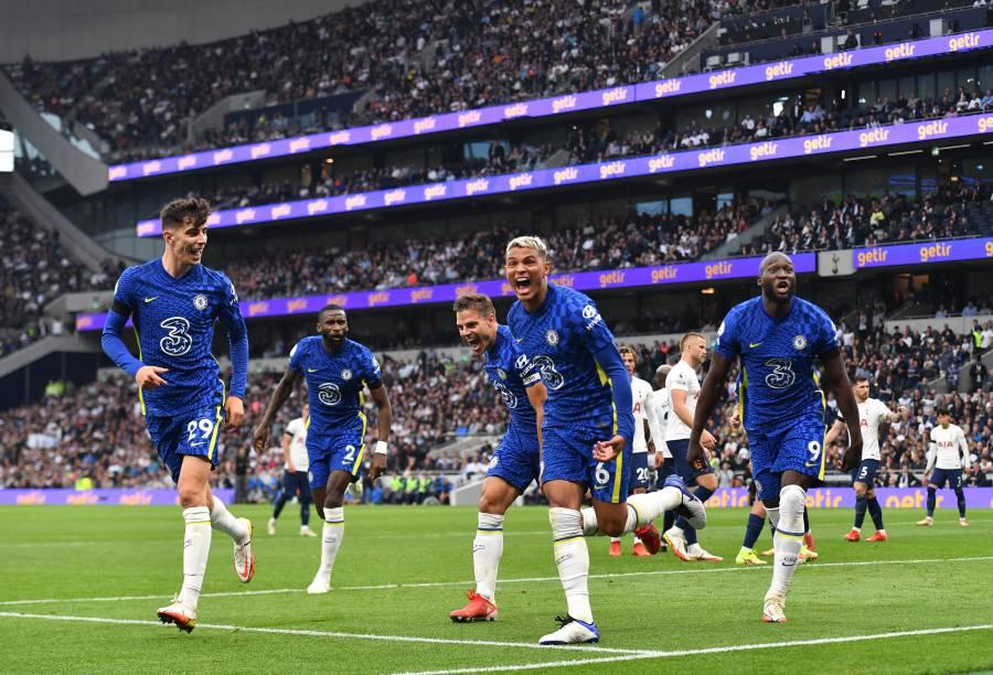Londres se pinta de azul: Chelsea golea al Tottenham