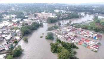 Conagua alerta crecimiento del río Tula