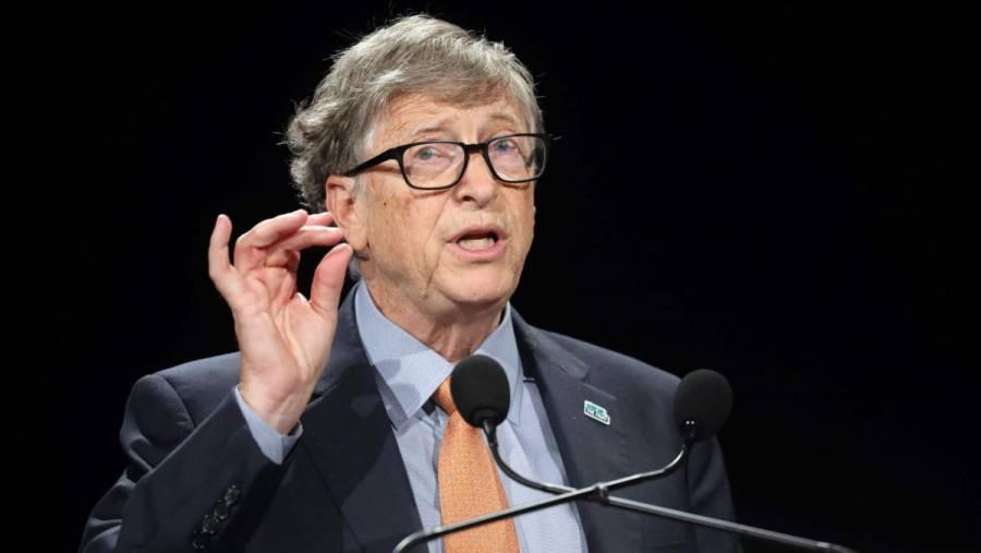 Bill Gates reúne mil mdd para financiar energías limpias