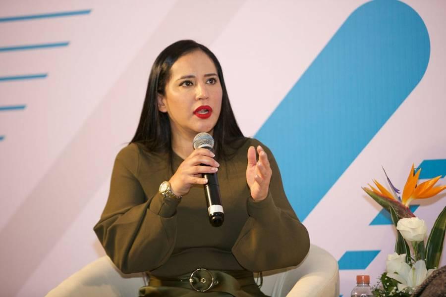 Incompleto, proceso de transición en la alcaldía Cuauhtémoc: Sandra Cuevas