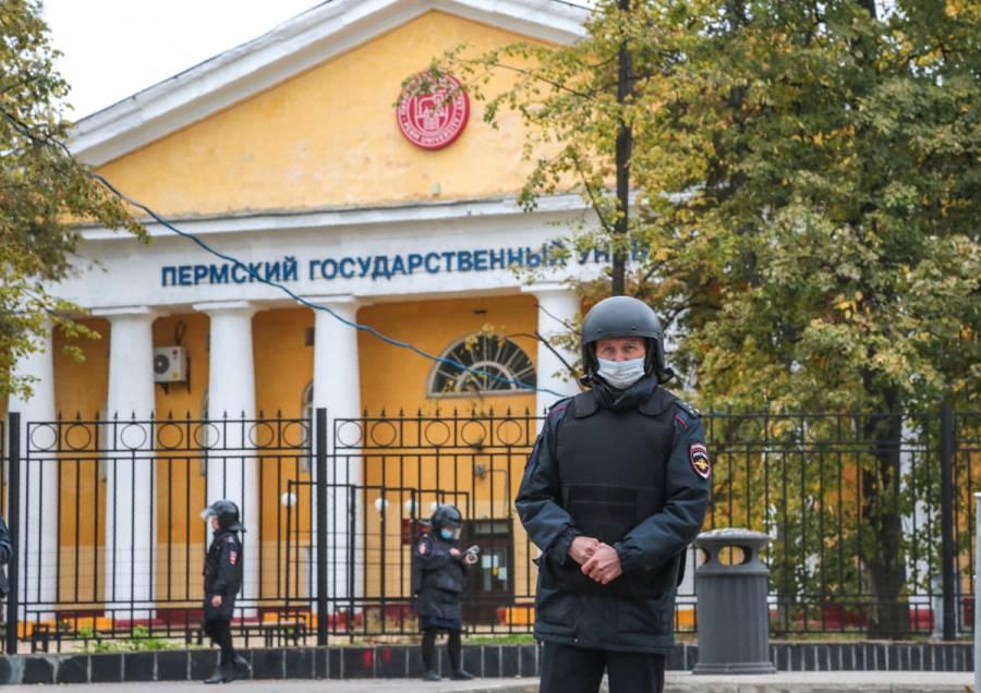 Tiroteo en universidad de Rusia deja al menos 8 muertos