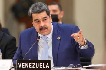"""""""México nos ha recibido como hijos, con amor"""", afirma Nicolás Maduro al regresar a Venezuela"""