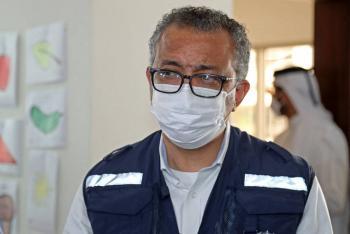 Director de la OMS llega a Kabul en plena crisis asistencial en Afganistán