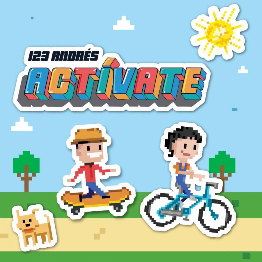"El reconocido dúo 123 Andrés presenta álbum infantil ""Actívate"""