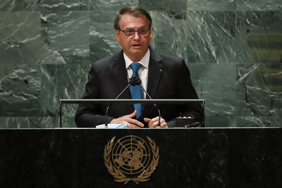 En la ONU, Bolsonaro se pronuncia en contra del pasaporte sanitario