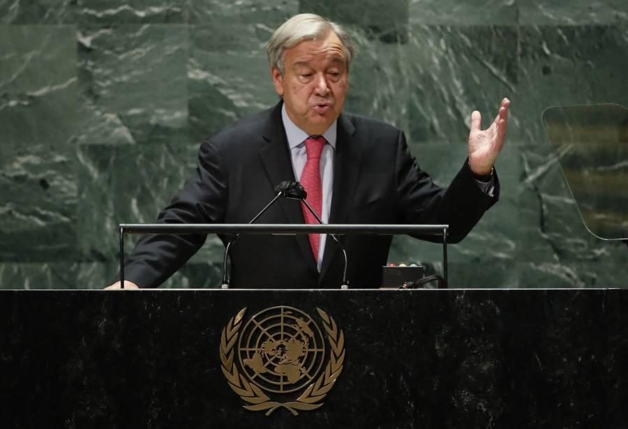 El mundo está al borde del abismo: ONU
