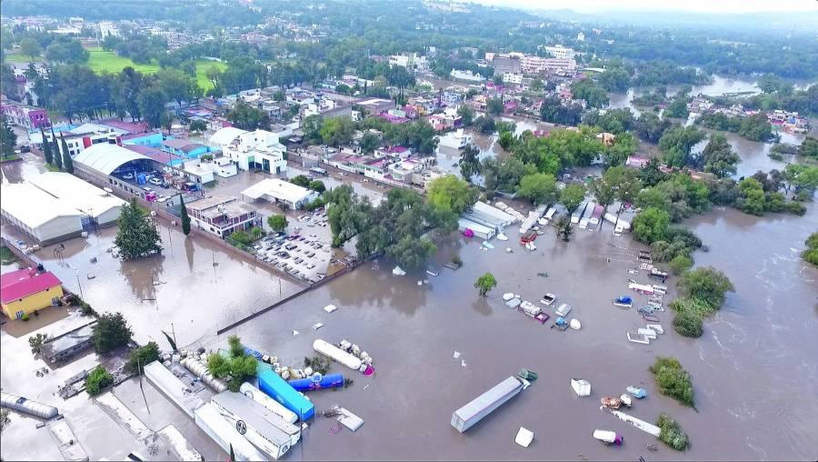 Aseguran que inundaciones en Querétaro están controladas