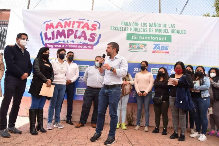 Inicia en Miguel Hidalgo campaña en apoyo a escuelas públicas