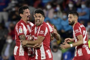 Atlético de Madrid remonta y vence al Getafe: Herrera y Macías vieron acción