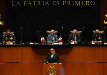 Venimos a ganar la paz, dice titular de Seguridad al defender estrategia anticrimen de la 4T
