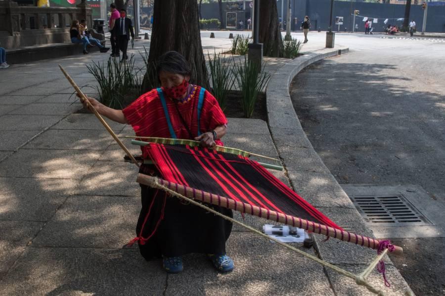 """""""No hay nada que celebrar"""", dicen indígenas sobre los 200 años de Independencia"""