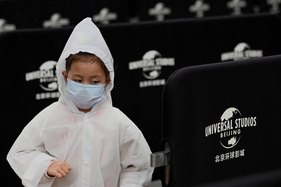 Pandemia no frena inauguración del parque temático de Universal Studios en China