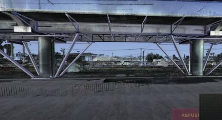 Presenta GobCDMX armadura para tramo elevado de la Línea 12 del Metro