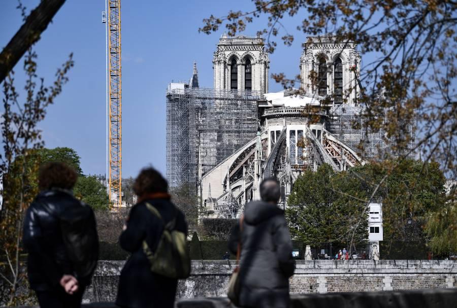 Mediante donaciones se recaudaron 840 mde para la reconstrucción de Notre Dame