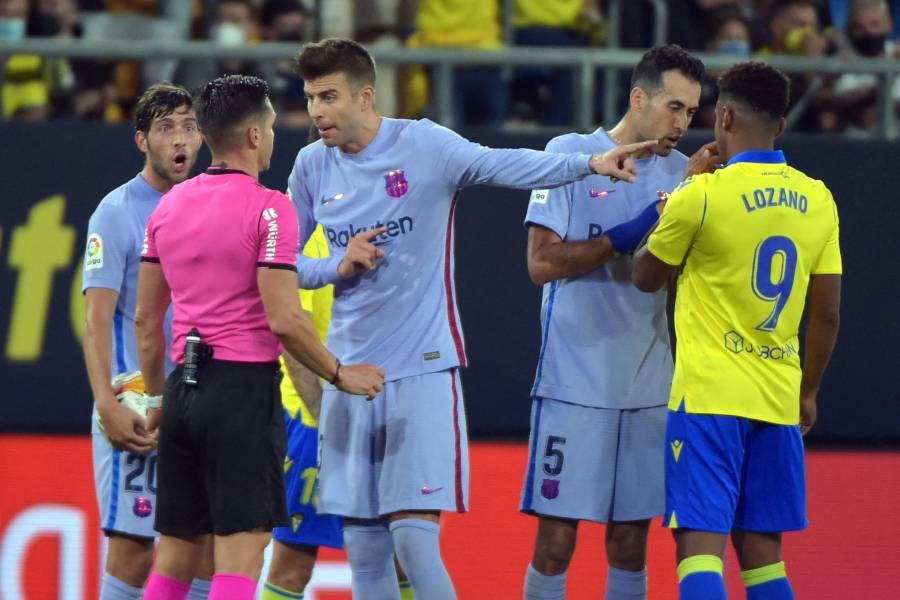 Barcelona empata ante el Cádiz y deja a Koeman al borde de la destitución