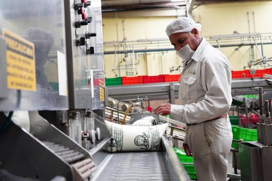 Liconsa distribuyó casi 300 millones de leche en primer semestre de 2021