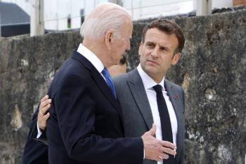 Joe Biden y Emmanuel Macron se reunirán en octubre