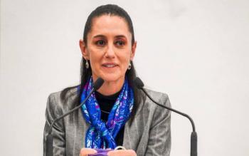 Coordinación con INM ante llegada de migrantes: Sheinbaum