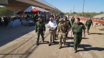 Titular del INM se reúne con autoridades de EEUU y Coahuila