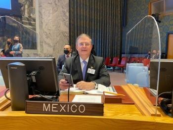 México insiste en la ONU cese el embargo a Cuba