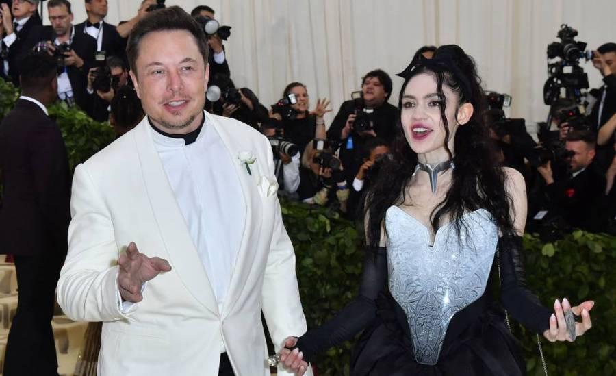Elon Musk confirma separación con Grimes