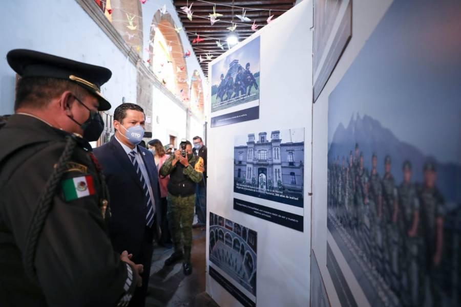 """Inauguran exposición fotográfica """"La Gran Fuerza de México"""""""