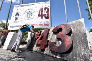 No iban a boicotear evento político los 43 Normalistas de Ayotzinapa: Alejandro Encinas