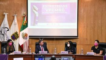 IECM realiza conversatorio sobre estrategias para atender violencia política en razón de género