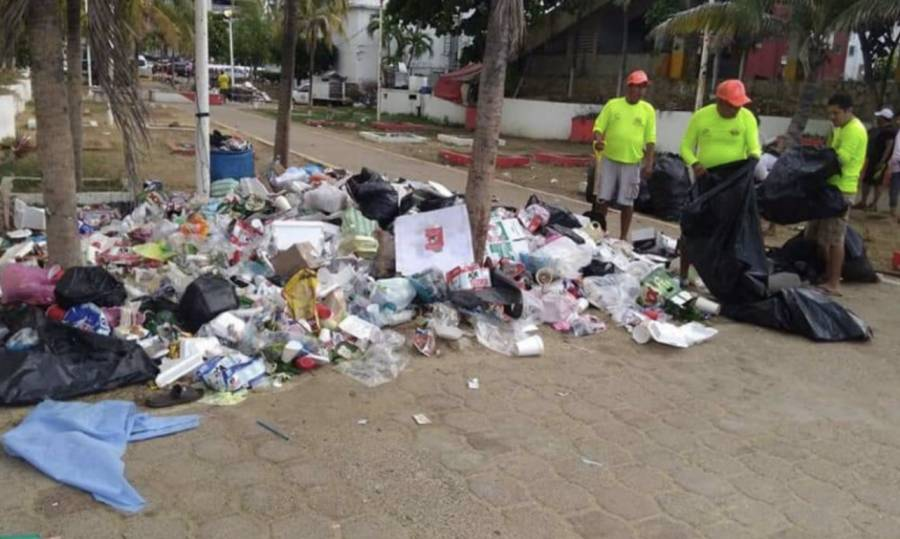 En Acapulco declaran emergencia sanitaria debido a la acumulación de basura en las calles