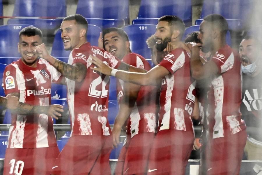Atletico de Madrid perdió en contra del Alavés 1-0