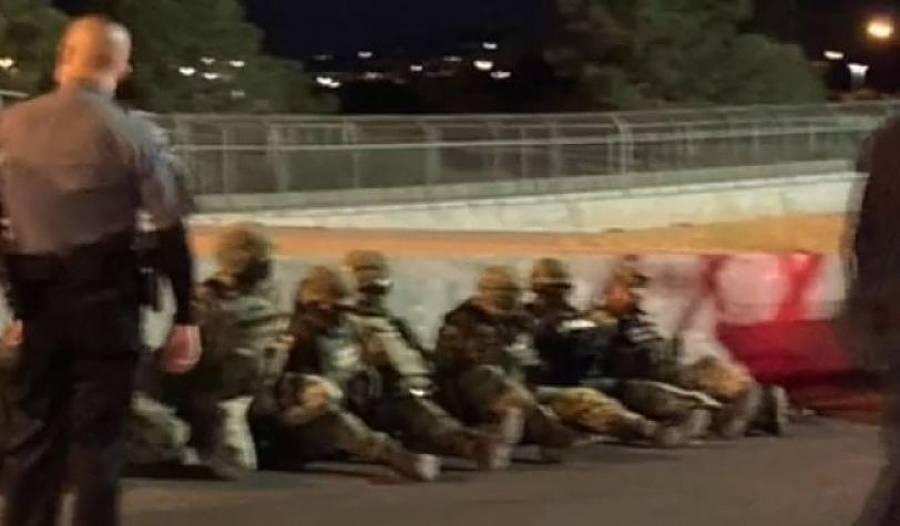 Detienen a militares mexicanos en el Puente Internacional Juárez y El Paso