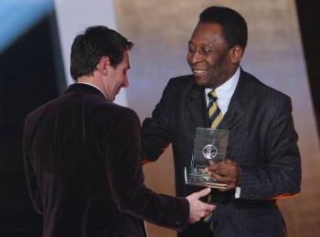 Pelé felicita a Messi por superar su récord como máximo goleador sudamericano
