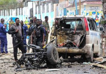 Ataque con coche bomba cerca del palacio presidencial somalí deja ocho muertos