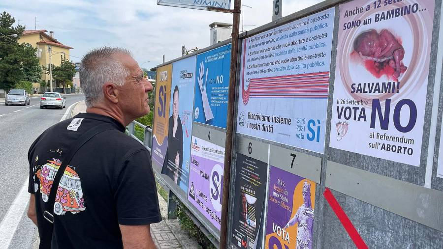 San Marino aprueba legalizar el aborto en referéndum