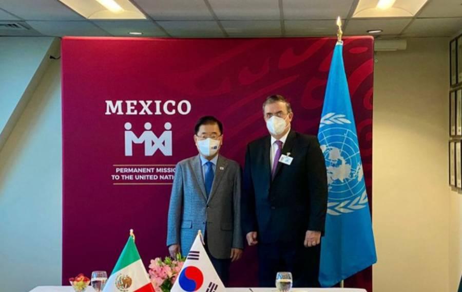 México y Corea reafirman relación bilateral